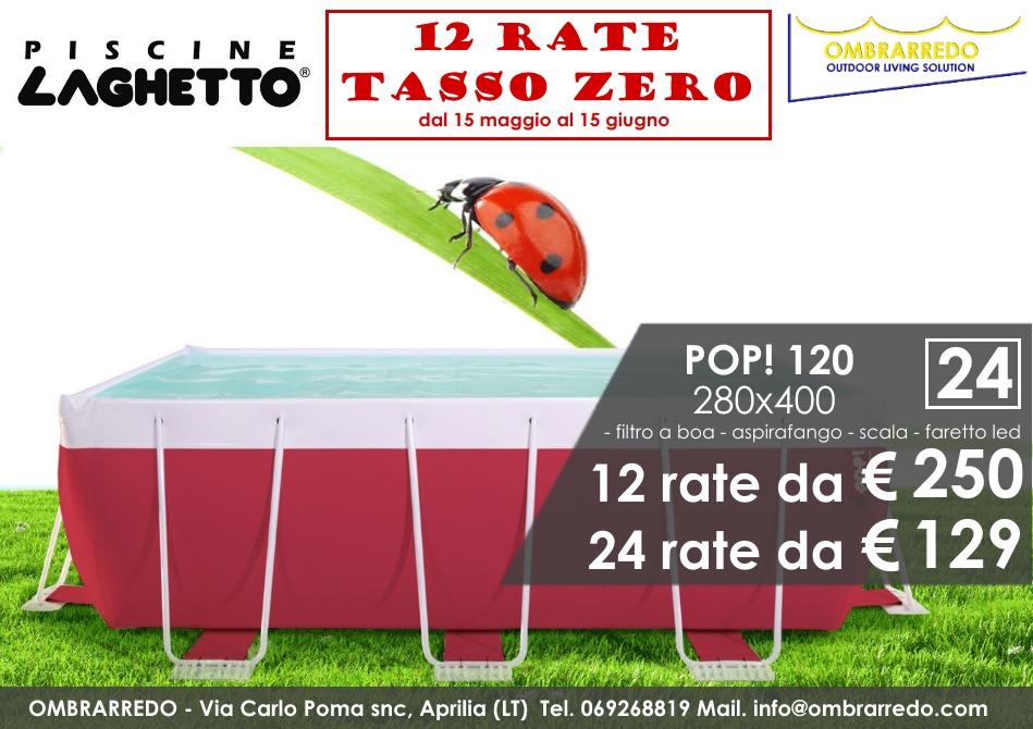 Offerte piscine 12 rate tasso zero promozioni for Piscine per esterno offerte
